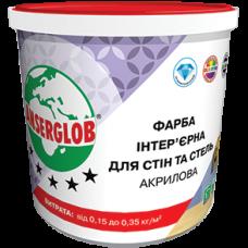 Краска интерьерная акриловая ANSERGLOB для стен и потолка