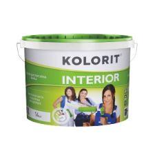 Краска матовая водно-дисперсионная Kolorit Interior