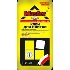 Клей для плитки Мaster Normal 25 кг