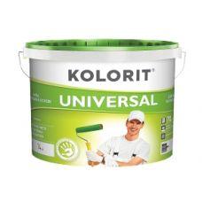 Краска матовая стойкая к мытью Kolorit Universal