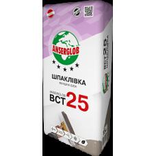 Шпаклевка финишная белая ANSERGLOB ВСТ 25