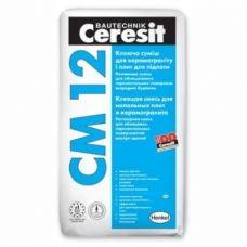 Клей для керамогранита Ceresit CM 12 25 кг