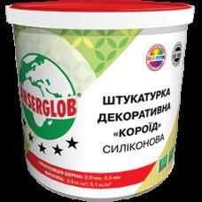Декоративная силиконовая штукатурка ANSERGLOB «короед» 25 кг