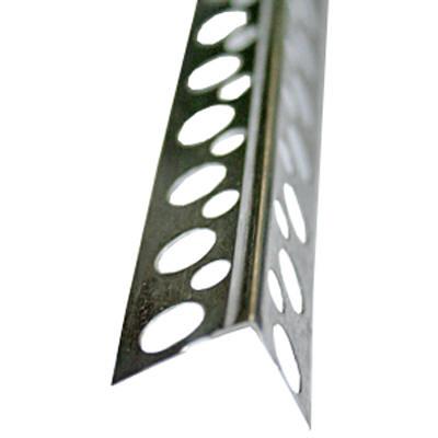 Угол перфорированный аллюминиевый 3 м