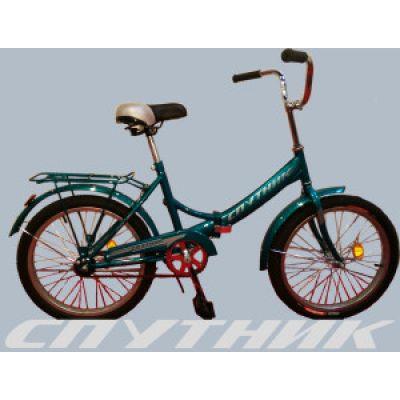 Велосипед подростковый складной d=24 ТМ Спутник